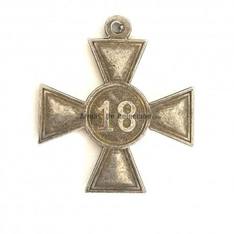 Medalla Wehrmacht-Dienstauszeichnung de 2ª clase (reconocimiento largo servicio 18 años)