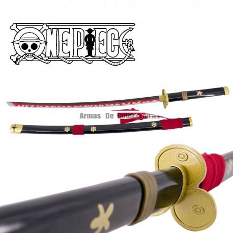 One Piece: Katana Enma (black) de Oro