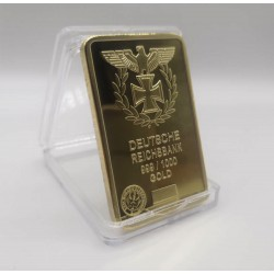 Réplica de Onza de oro del primer Reichsbank 1876