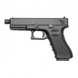 Pistola GLK 27 ( Tipo Glock 17 ) Metal Slider KP-17-MS Negra