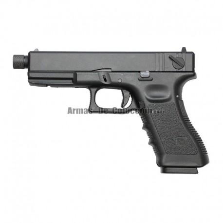 Pistola GLK 27 ( Tipo Glock 17 ) KP-17-MS Negra