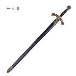Espada de caballero templario, siglo XII