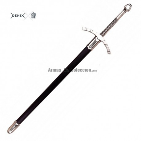 Espada medieval, século XIV
