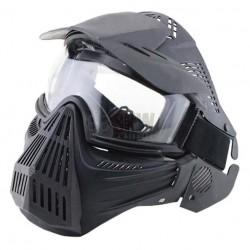 Máscara completa de protección Negra