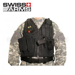 Mesh tactical vest with holster Swiss Arms