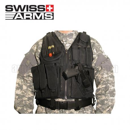 Colete Tático Swiss Arms com Holster