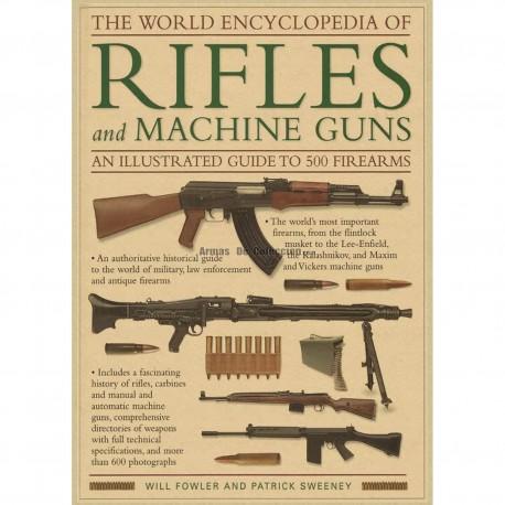 Lámina despiece rifles Segunda Guerra Mundial