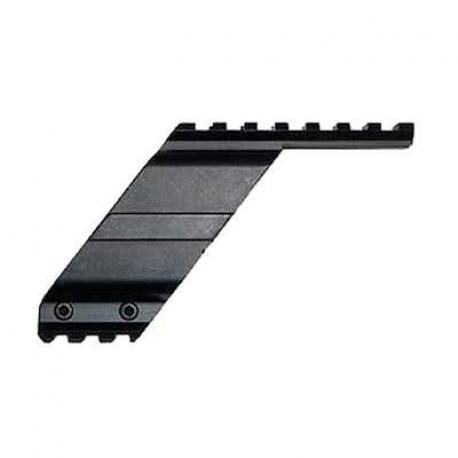 Montura rail para pistolas em metal