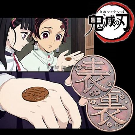 Demon Slayer: Moneda de decisión de Kanao Tsuyuri