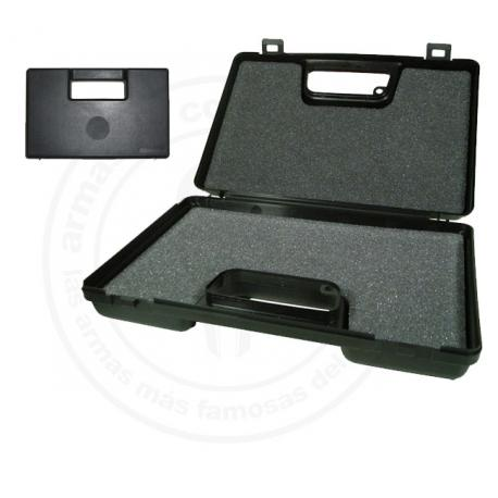 Rigid carrying case for guns
