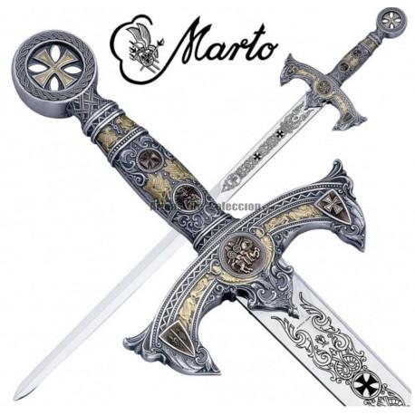 Marto Templar Sword Silver M584.1