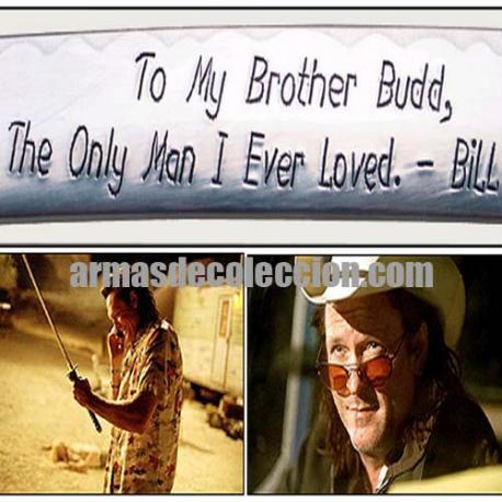 Kill Bill : Katana sword Budd