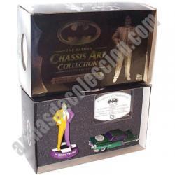 Batman : FIGURA DE TWO FACE (DOS CARAS) Y COCHE. SERIE LIMITADA