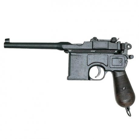 Mauser automatic pistol, caliber 7-63 mm, 1898