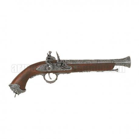 gun italiana, do século XVIII. prata