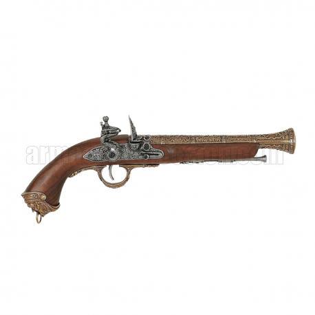 gun italiana, do século XVIII. ouro