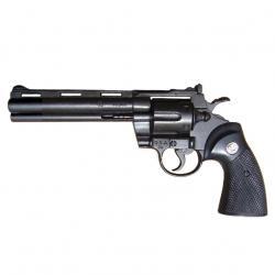 """Revólver phyton calibre .357, 6"""" de 1955"""