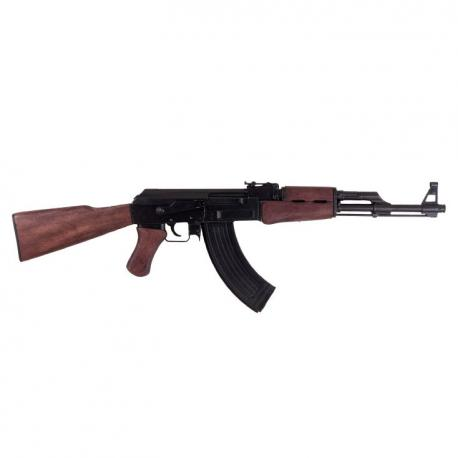 Ak47 rifle designed by Mikhail Kalashnikov in 1947