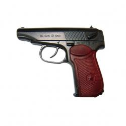 Pistola PM (Pistolet Makarova), diseñada por Makarov, Rusia 1951