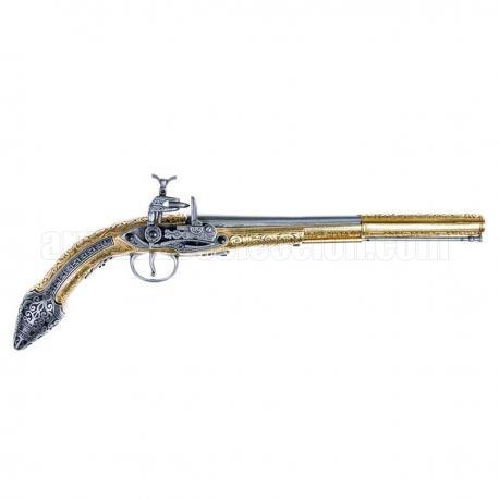 Miquelet-lock pistol Algeria 19thC.