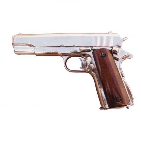 Colt .45 automatic Government chrome