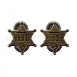 Soporte placa sheriff