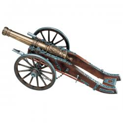 French cannon Louis XIV, 18th. Century