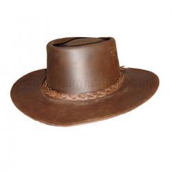 Sombrero de Cowboy. Piel