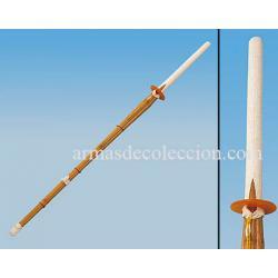 SHINAI. Katana de entrenamiento. Bambú