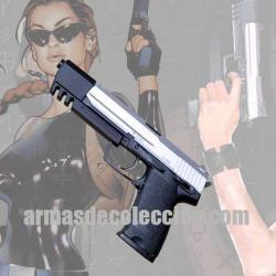 TOMB RAIDER: H&K USP. Arma de Lara Croft