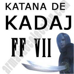 Katana Doble Kadaj FF VII