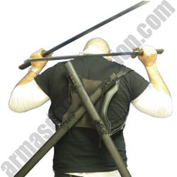NINJA SWORDS BACK COMBAT