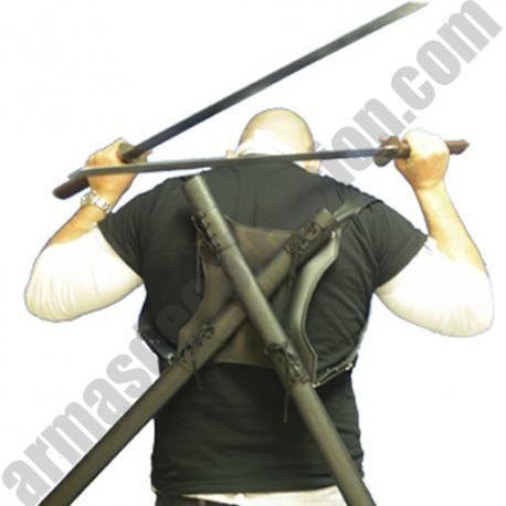 NINJA SWORDS BACK COMBAT