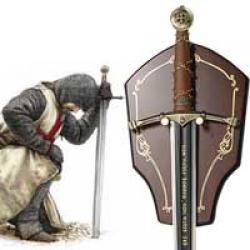 Espada Templaria Non Nobis Domine