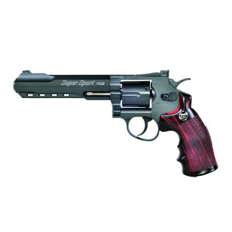 AIRGUN REVOLVER MAGNUM SUPER SPORT 4.5 MM BLACK