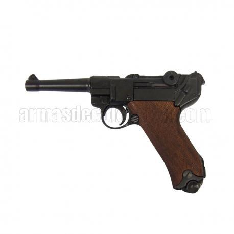 Luger P08 Parabellum (Punho madeira)