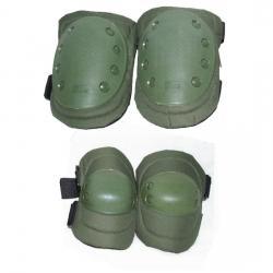 Pack Coderas y rodilleras Verde