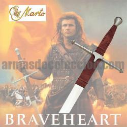 BRAVEHEART : espada de William Wallace. MARTO