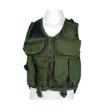 Tactical vest ADC 5.2 OD with hoster