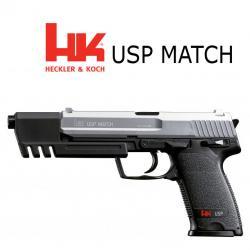 HK USP Match Duotone Pistola 6MM Muelle