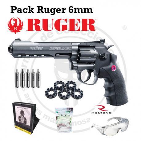 """Pack Ruger Super Hawk 6"""" 420 FPS"""