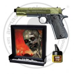 Pack Zombie Hunter Pistola 6MM Muelle
