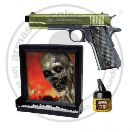 Pack Zombie Hunter (Funcionamento a mola)