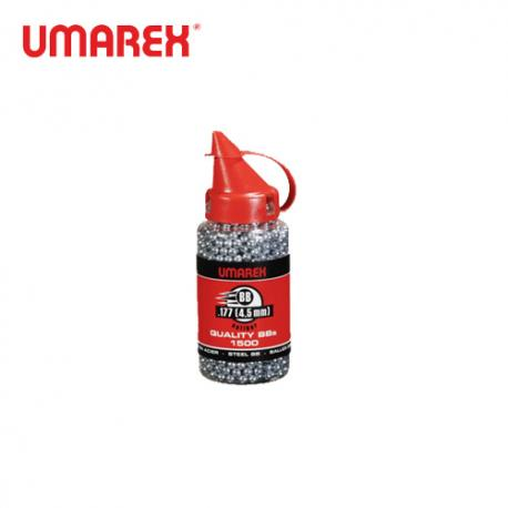4.5mm (.177) Umarex BB Steel Shots, 1500 pcs.