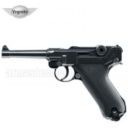 Luger P08 4.5 mm funcionamento CO2