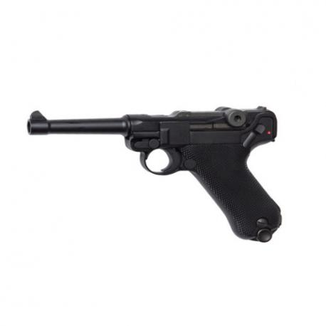 Luger P08 full metal Blow Back GAS OPERATED