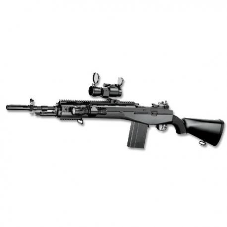 M160A2 TYPE M14 Socom with red dot and flashlight