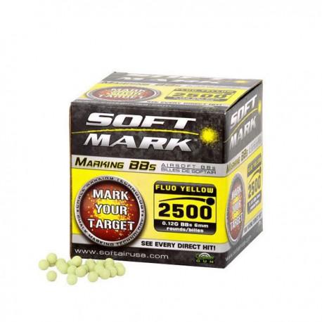 2500 Bolas 0,12 grs giz amarilla