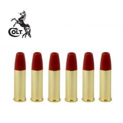 Pack 6 Balas de Ouro Colt Python 357