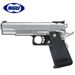 Tokyo Marui Hi-Capa 5.1 Pistola 6MM Gas Modelo Inoxidable (PLATA)